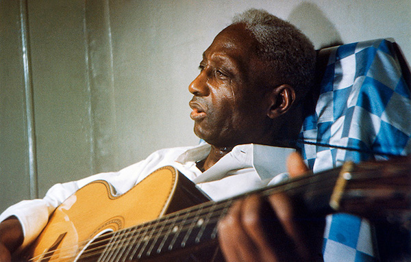 Portrait in New York, in Lead Belly's final days, 1948-49