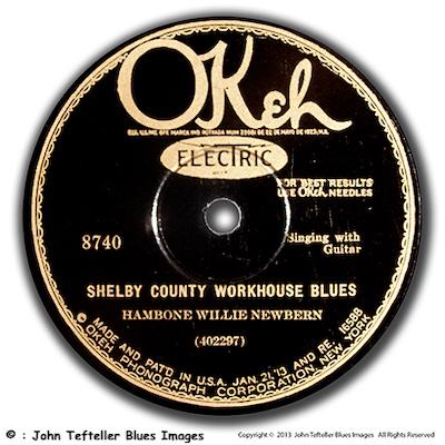 John Tefteller Museum 78's, Pre-War Blues