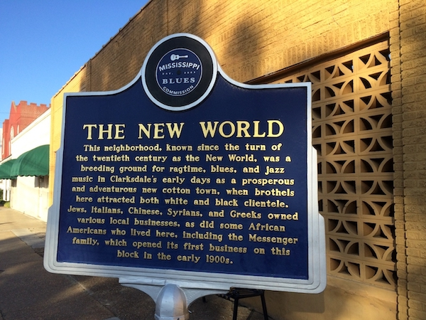 The New World Marker