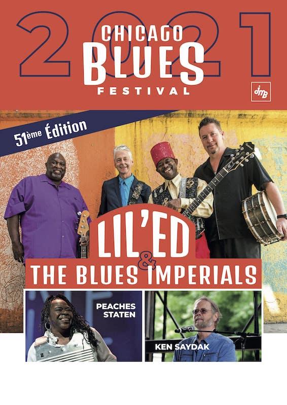 Tournée du Chicago Blues Festival